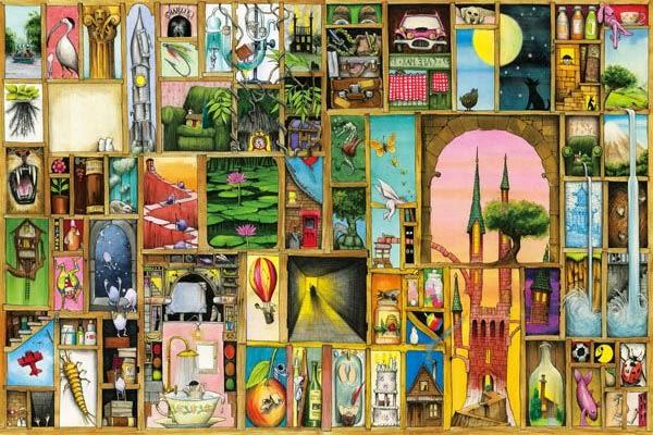 【拼圖總動員 PUZZLE STORY】開門(作者:Colin Thompson) PuzzleStory X Apple one/繪畫/1000P