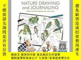 二手書博民逛書店【罕見】Laws Guide to Nature Drawing