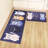 廚房地墊廚房地毯門墊3D地墊家用臥室地墊進門地墊吸水浴室防滑墊