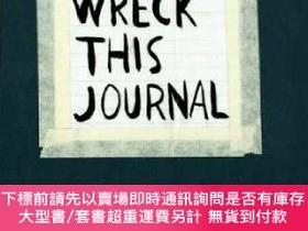 二手書博民逛書店Wreck罕見This Journal (Black)Y454646 Keri Smith 著 Pengui