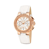 【Folli Follie】Watchalicious羅馬晶鑽時尚計時腕錶-亮眼白/WF13B001SES_WH/台灣總代理原廠公司貨兩年保固