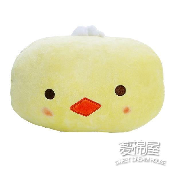 夢棉屋 【黃雞】超彈力多功能枕 靠枕/抱枕/午安枕/卡通動物枕/腰枕
