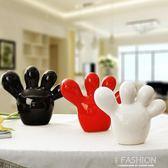 擺飾品 現代家居裝飾禮品禮品電視櫃擺件可愛小腳丫igo Ifashion