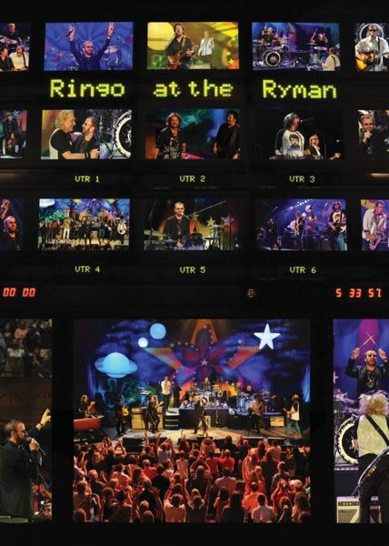 林哥史達 搖滾之夜 DVD Ringo Starr and His All Starr Band / Ringo at the Ryman (音樂影片購)