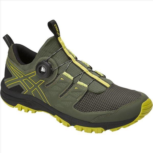 ASICS 18SS 越野鞋 襪套式 BOA旋鈕 免綁鞋帶 FUJIRADO系列 T7F2N-8189 贈1襪
