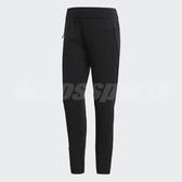 adidas 長褲 Z.N.E. Slim Pants 黑 全黑 女款 舒適 訓練褲 【PUMP306】 BR1900