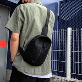 網紅小黑包質感斜挎包男ins超火百搭學生男士運動小胸包潮牌腰包 酷斯特數位3c