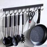 掛鉤 廚房 架免打孔墻壁掛式掛桿強力粘膠粘鉤收納掛架墻上置物架子 阿卡娜