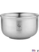 貝貝居 泡麵碗 不銹鋼碗 兒童碗 單個 防摔 雙層隔熱 大碗飯碗 泡麵碗