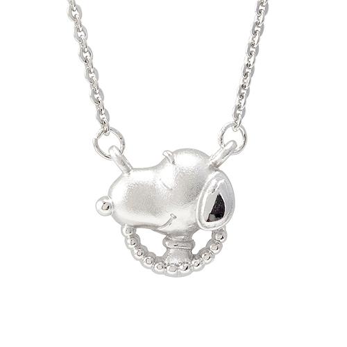史努比SNOOPY-期待-銀飾項鍊(鎖骨鍊)
