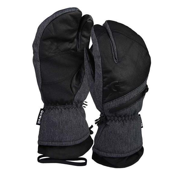 【南紡購物中心】【威飛客 WELLFIT】GO WELL防水滑雪手套-三指