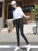 顯瘦新款緊身鉛筆小腳打底褲女外穿高腰黑色秋冬加厚彈力 新年特惠