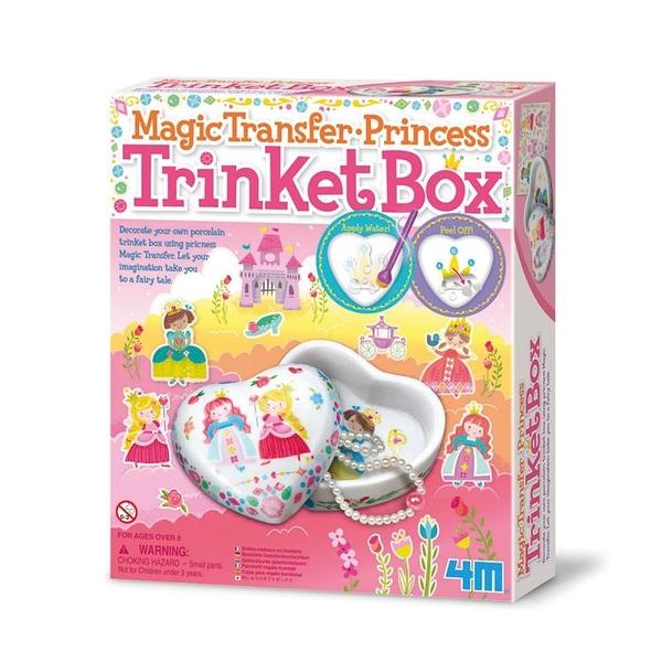 【4M】04684 美勞創作-神奇轉印貼 公主寶盒 Princess Trinket Box
