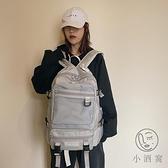 時尚潮流旅行後背包書包男女學生韓版雙肩包【小酒窩服飾】
