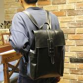 韓版雙肩後背包 男書包《印象精品》y374