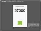 ★相機王★獨家首賣Lucida LCD保護貼﹝Nikon D7000專用﹞現貨供應