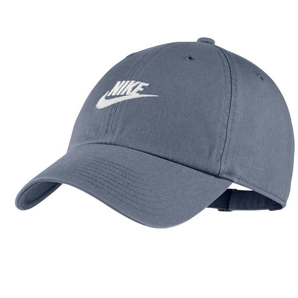 KUMO SHOES-現貨 NIKE 男女 H86 FUTURA WASHED CAP 鐵淺灰 老帽 913011-490