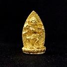 咕嚕咕列佛母 2.9公分 佛像法像-金黃色