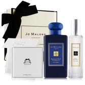 Jo Malone 午夜藍限定禮盒(英國梨100mlX杏桃花30ml)[附卡片禮盒緞帶]