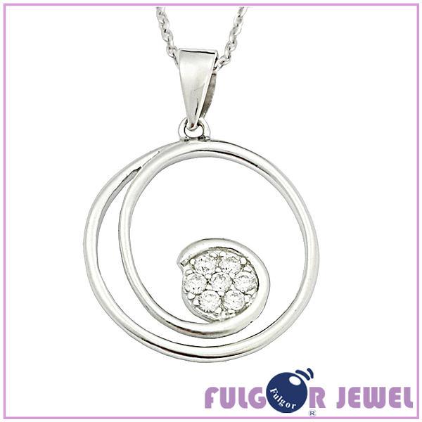 【Fulgor Jewel】新品上市 意大利流行 925純銀項鍊 星光閃爍