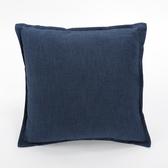 類丹寧平織抱枕45x45cm 藍