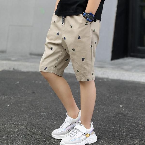 男童短褲 巴拉巴拉男童七分褲夏裝薄款洋氣兒童褲子短褲中大童夏季中褲五分