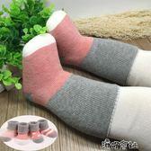 秋冬款寶寶無骨高筒襪子純棉加厚嬰兒保暖中長筒鬆口男女童毛圈襪 港仔會社