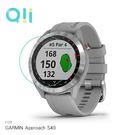 兩片裝 Qii GARMIN Approach S40 玻璃貼 鋼化玻璃貼 自動吸附 2.5D弧邊 手錶保護貼