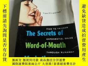 二手書博民逛書店The罕見secrets of word-of-mouth Ma