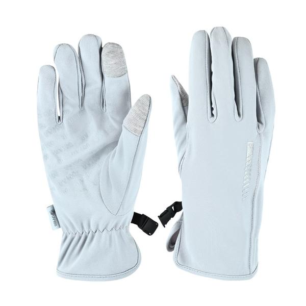 UV100 防曬 抗UV-防潑水反光觸控修飾手套-女