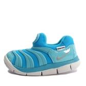 Nike Dynamo Free TD [343938-417] 小童鞋 慢跑 運動 休閒 舒適 透氣 毛毛蟲 水藍