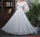 (45 Design)  7天到貨 長禮服伴娘禮服 結婚晚禮服姐妹裙長版禮服 韓式 洋裝 新娘敬酒服 連身裙2