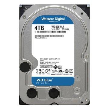 WD 4TB【藍標】(256M/5400轉/三年保)(WD40EZAZ)【刷卡含稅價】