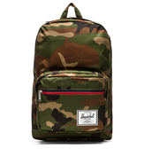 Hsin 出清 現貨 Herschel Pop Quiz Woodland Camo 森林 迷彩 帆布 筆電 多夾層 大容量 書包 後背包