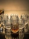 酒杯 水晶玻璃威士忌酒杯洋酒杯家用歐式烈酒杯水杯茶杯酒吧酒具啤酒杯【快速出貨八折下殺】