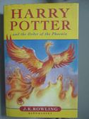 【書寶二手書T1/一般小說_OJT】Harry Potter and the Order of the Phoenix_Rowling, J. K.