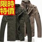 軍裝外套有型-秋冬薄款空軍裝純棉男夾克3色62o19【巴黎精品】