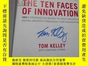 二手書博民逛書店The罕見Ten Faces of Innovation (創新