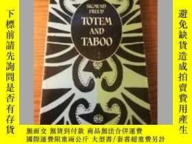 二手書博民逛書店Totem罕見and Taboo by Sigmund Freu