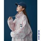 工裝外套 女士春秋寬松百搭 2021年新款運動 春夏季棒球服防曬衣