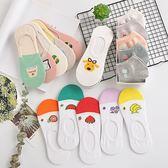 襪子女短襪船襪女淺口隱形硅膠防滑襪夏季薄款韓國可愛學院風【快速出貨八折優惠】