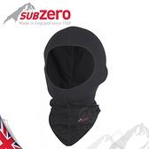 【Sub Zero 英國 Factor 1 排汗頭套《黑》】Factor 1/全罩面罩/重機頭套/保暖頭罩