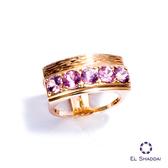 珍愛推薦送禮 情人節 聖誕節 首選 EL shaddai以利沙代 - 佳偶,精緻戒指 925銀 施華洛世奇水晶