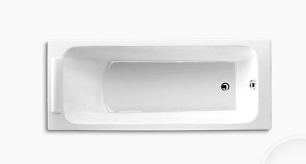 【麗室衛浴】美國 KOHLER Parallel 崁入式鑄鐵浴缸 K-1875T-0 150*70CM