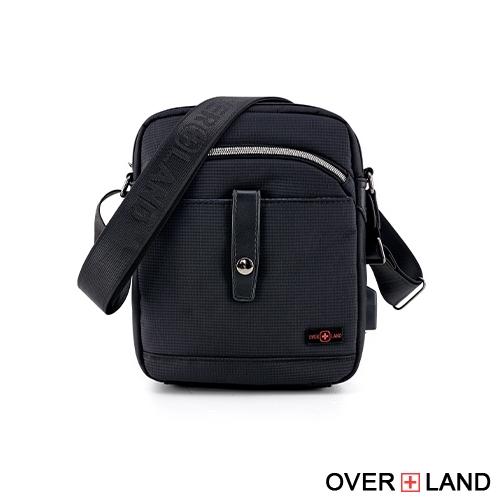 OVERLAND - 美式十字軍 - 城市風潮多層收納斜背包 - 5623