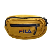 Fila Waistpack [BWU-3016-YE] 腰包 臀包 斜肩包 運動 休閒 輕量 隨身 黃