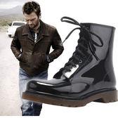 雨鞋男 短筒低幫防滑工作耐磨 成人大碼戶外防水鞋