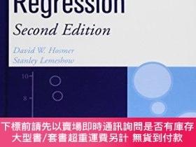 二手書博民逛書店Applied罕見Logistic Regression (wiley Series In Probability