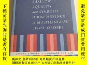 二手書博民逛書店Shallow罕見Equality and Symbolic J