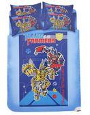 【卡漫城】變形金剛 勇氣篇 床包組 ㊣版 Transformers 雙人 床罩 枕頭套 5*6.2尺 保暖輕柔 台灣製